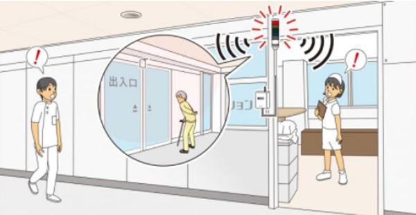 医療・介護施設向け介護サポートシステム「徘徊通知システム」を発売
