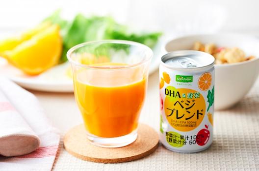 世界初「安定化DHA・EPA」を配合した飲料を販売開始