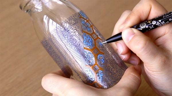 楽しみながら認知症予防!立体塗り絵「コロリアージュボトル」