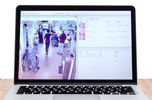 顔認証システムLYKAONモニタイメージ