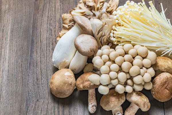 アイキャッチ:キノコを食べる頻度と軽度認知障害との関係を調べた研究
