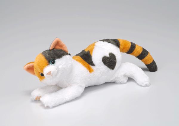 アイキャッチ:「なでなでねこちゃん」三毛猫のオスを発売