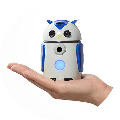 アイキャッチ:無人・非接触・自動で口腔機能トレーニングができるAIロボット